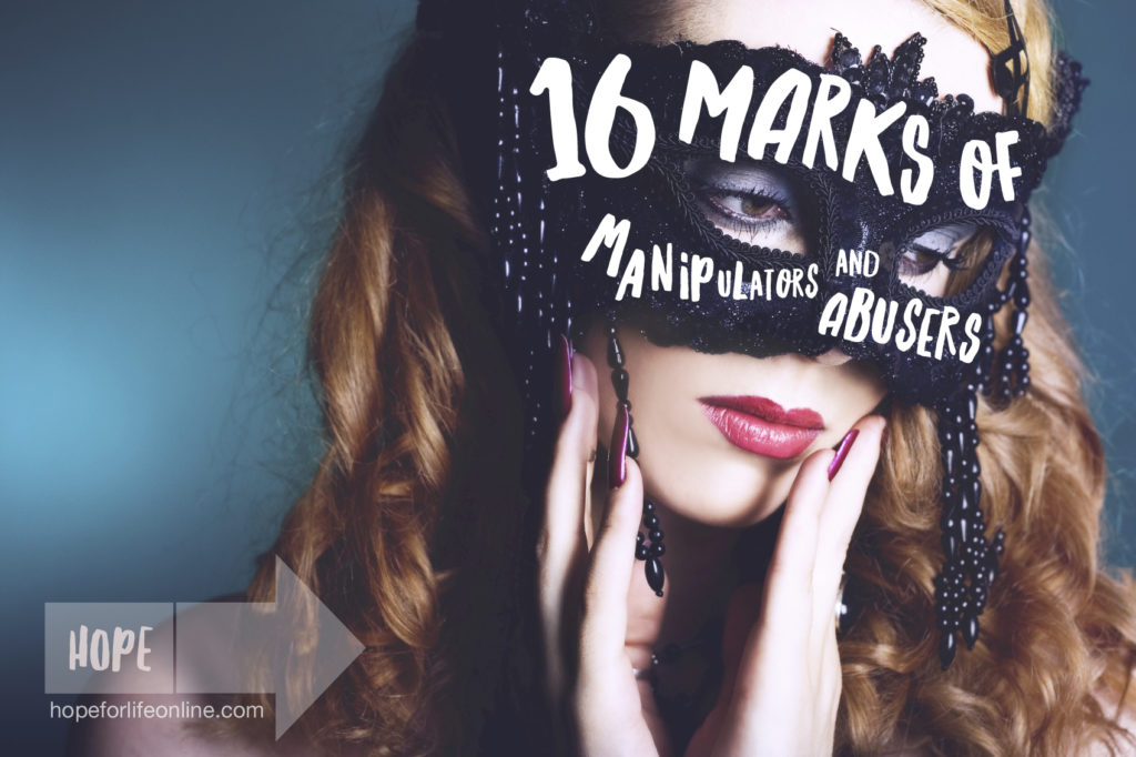 13 Marks of Manipulators and Abusers